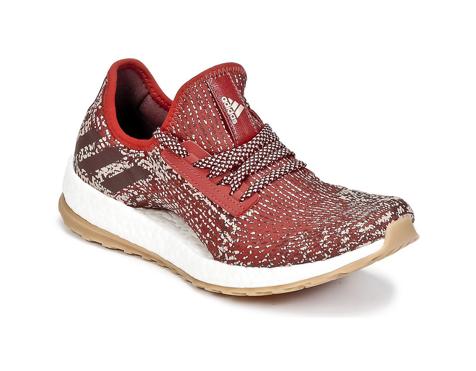 competitive price dae42 90745 adidas Pureboost X Atr Women s Running Trainers In Red in Red - Save 3% -  Lyst