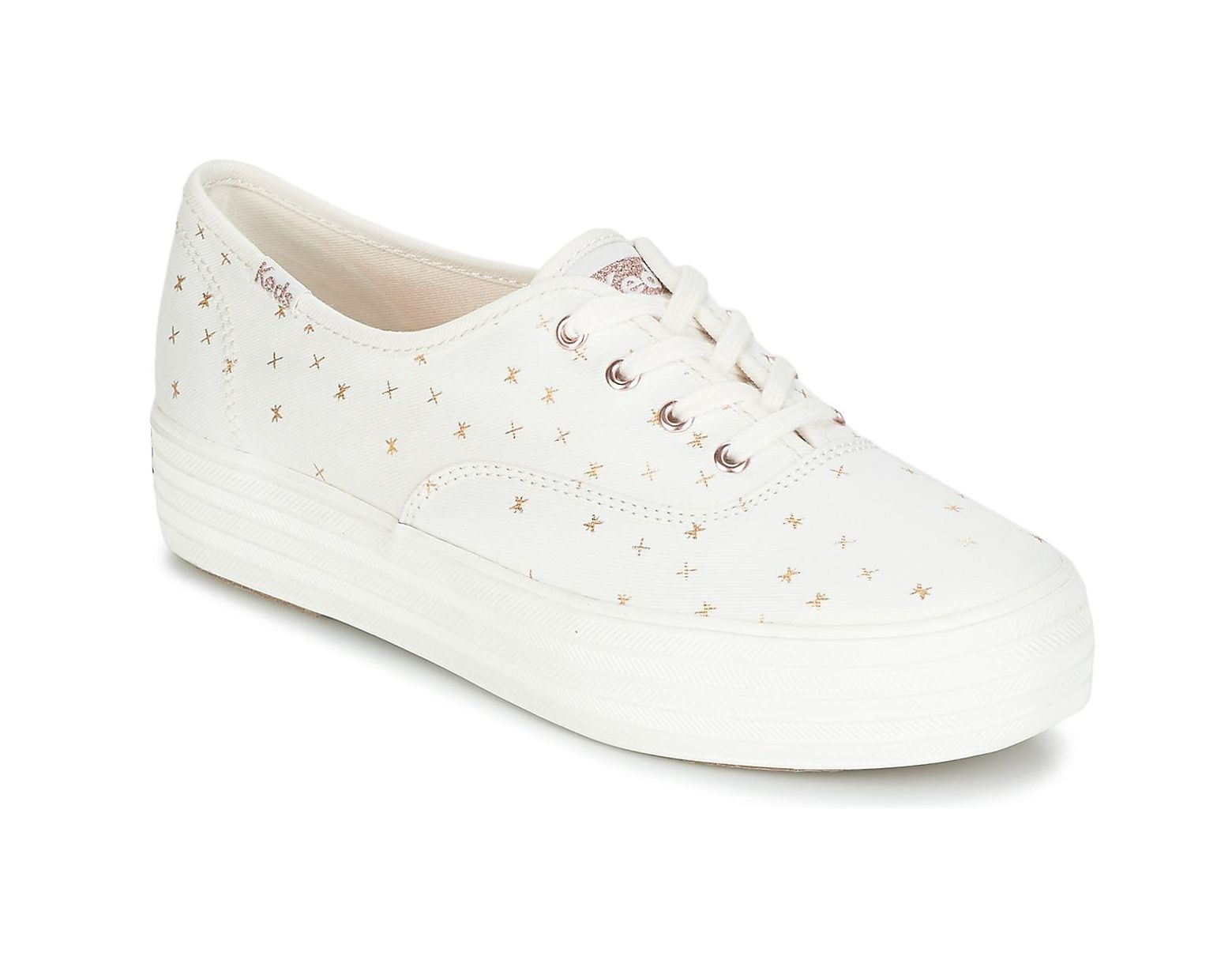 ce4c1421fe283 Keds Triple Ethereal Shoes (trainers) in White - Lyst