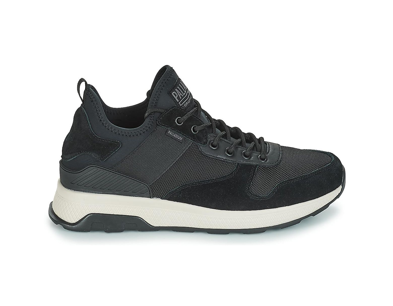 44f64600fdf Palladium Axeon Army Runner Shoes (trainers) in Black for Men - Lyst