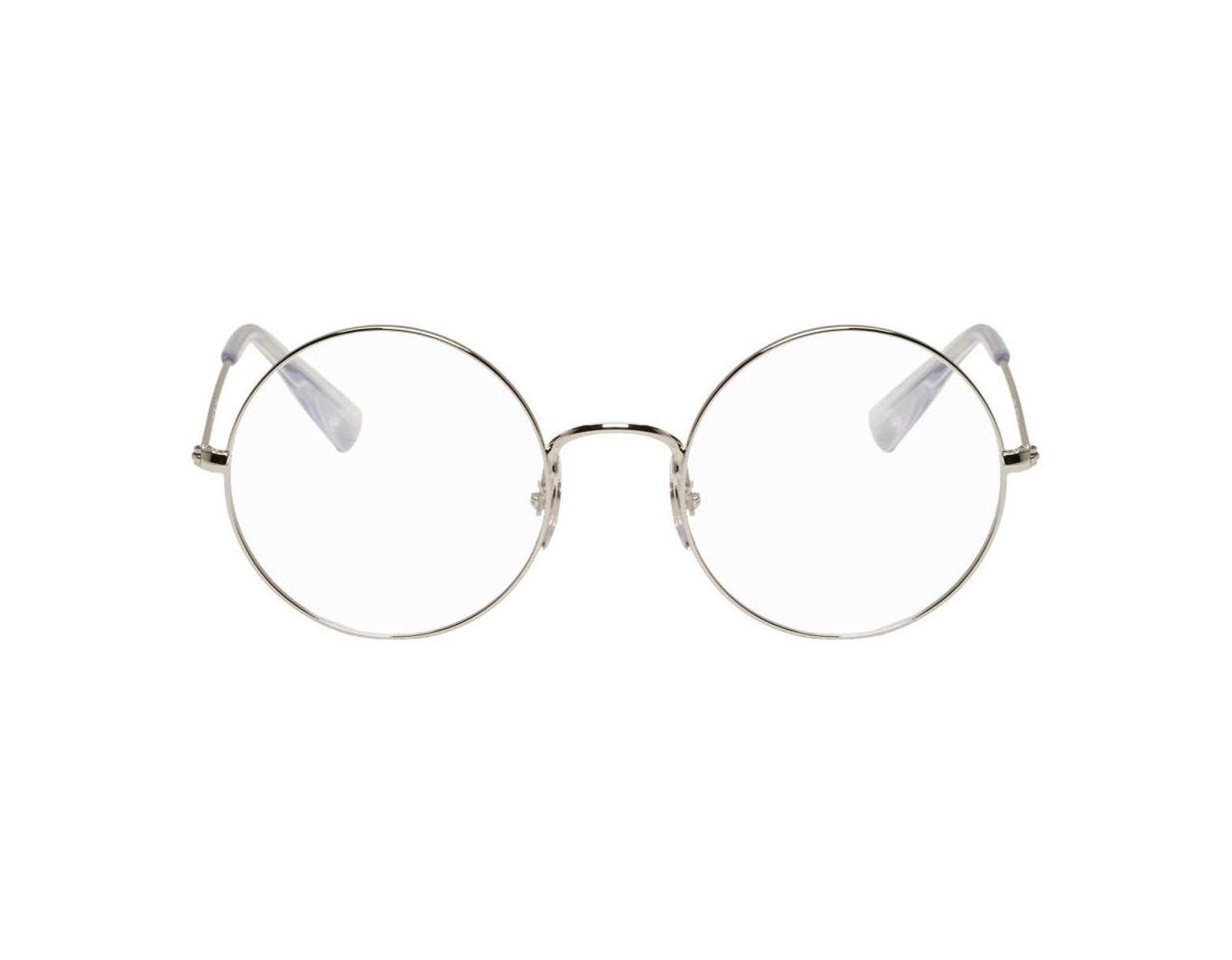 cdd944d63 Ray-Ban Silver Ja-jo Round Glasses in Metallic for Men - Lyst