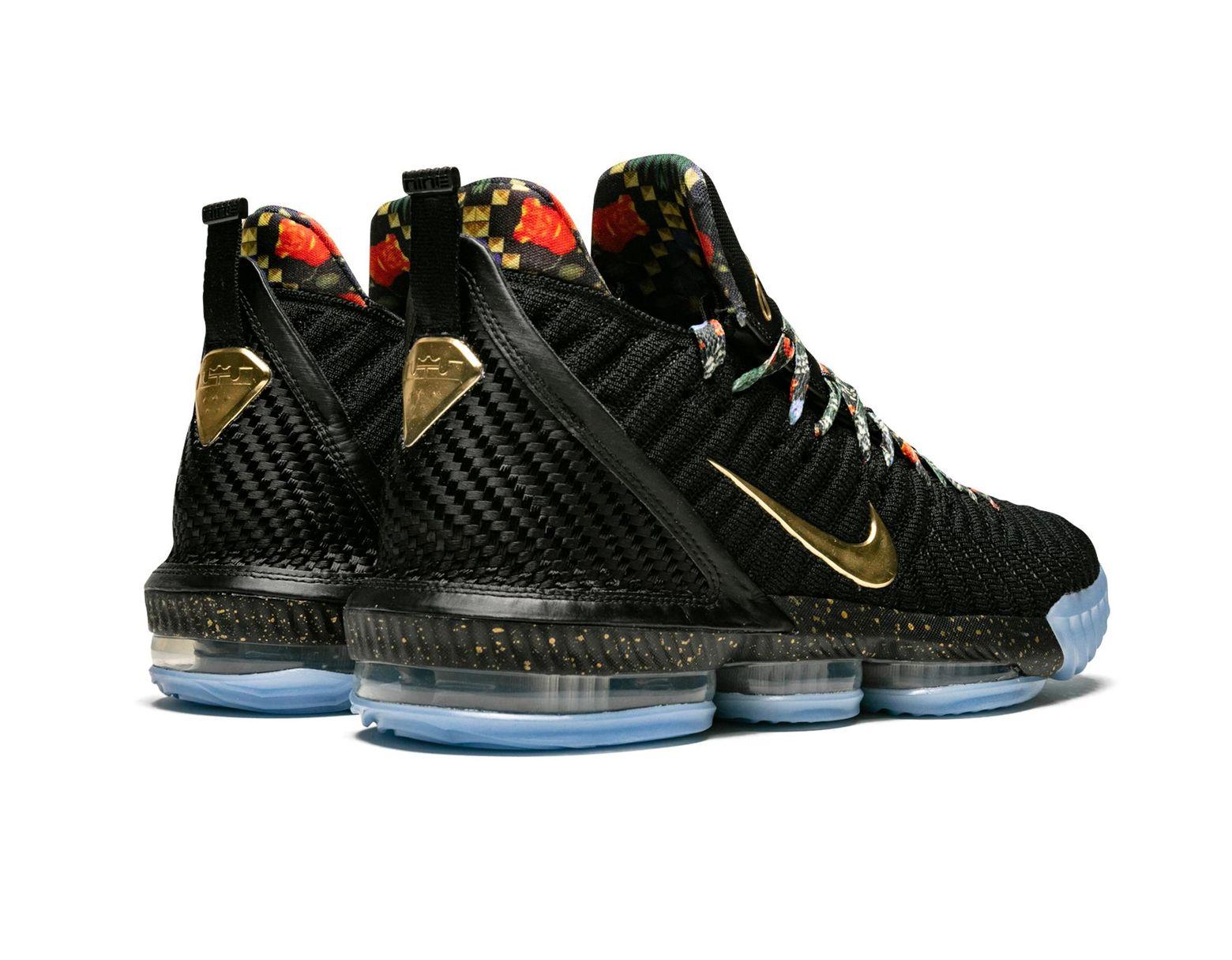 detailed look a337a 92da4 Nike Lebron Xvi Kc in Black for Men - Lyst