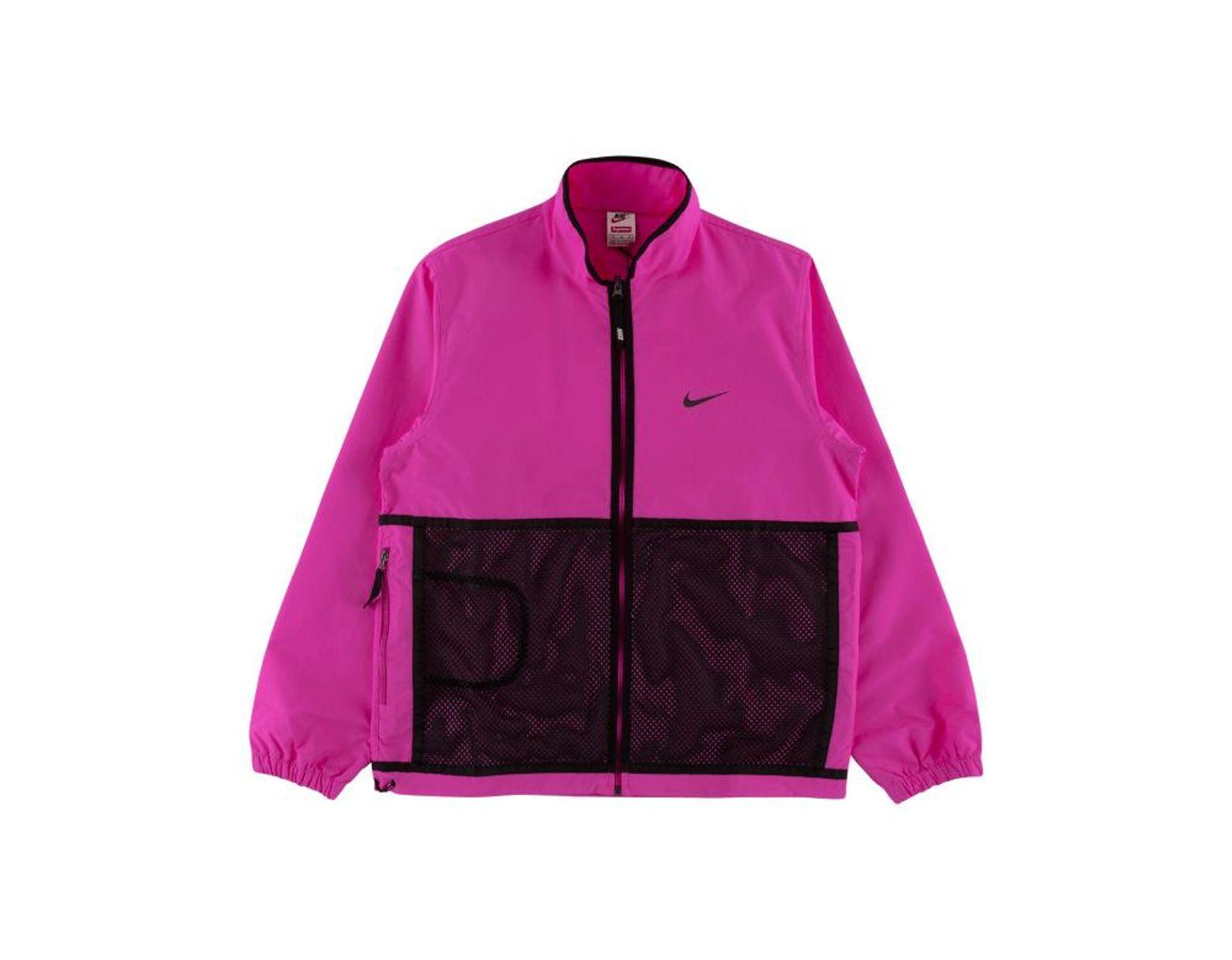 faf98cb1 Supreme Nike Trail Running Jacket in Pink for Men - Lyst