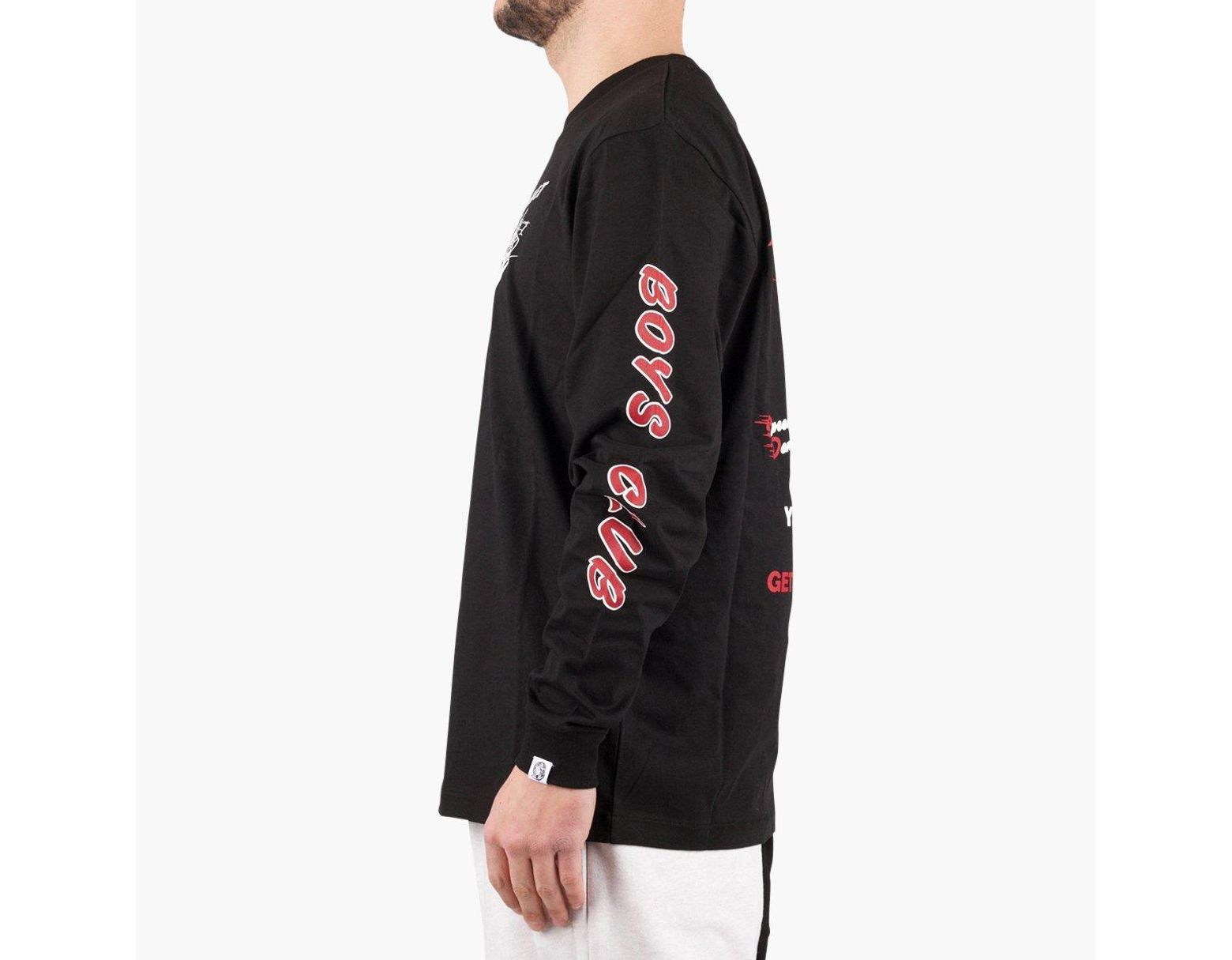 f537282c BBCICECREAM Billionaire Boys Club Rocket Riot Long Sleeve T-shirt in Black  for Men - Lyst