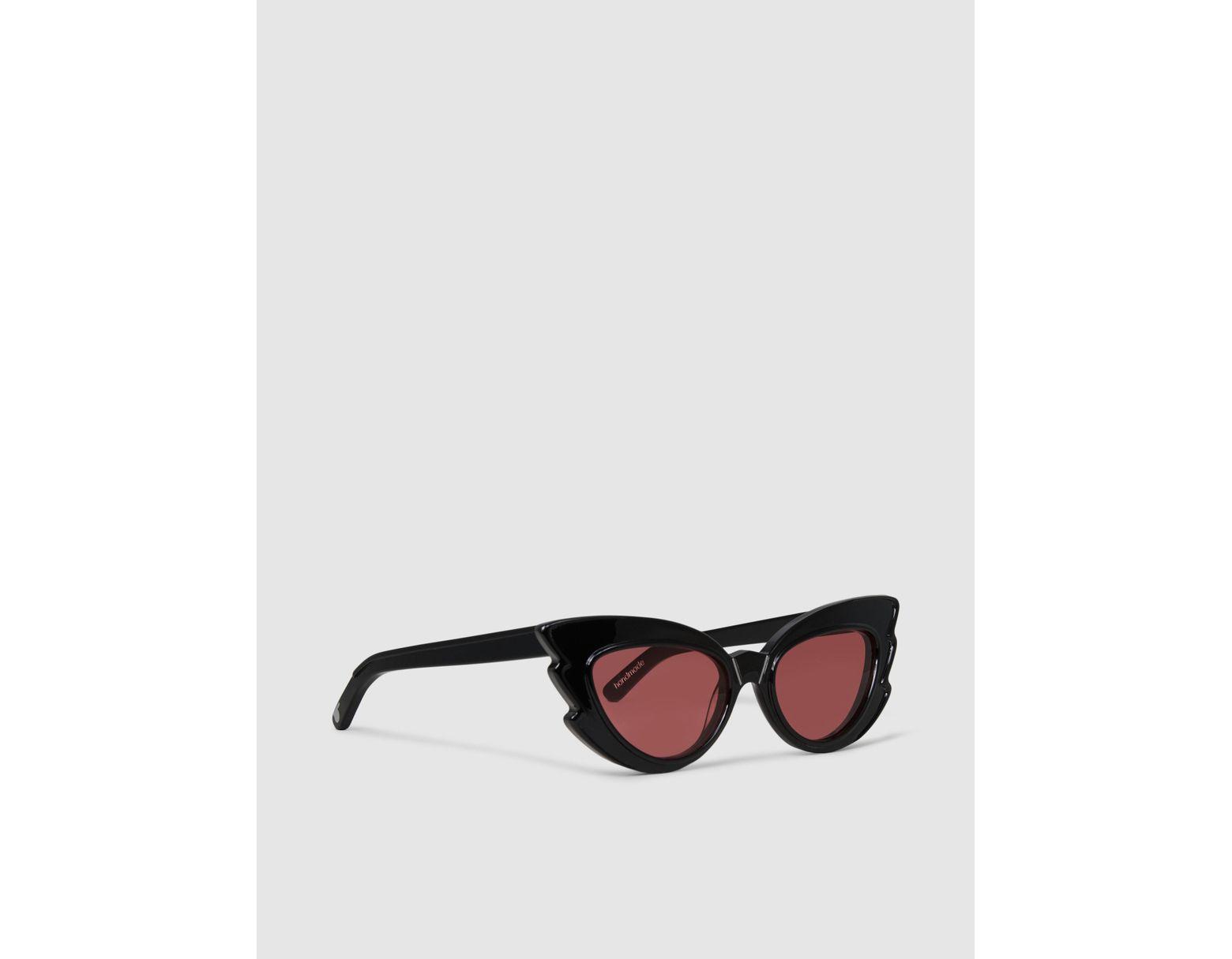 09a2d95656ad Pared Eyewear Stargazers Cat-eye Acetate Sunglasses in Black - Lyst
