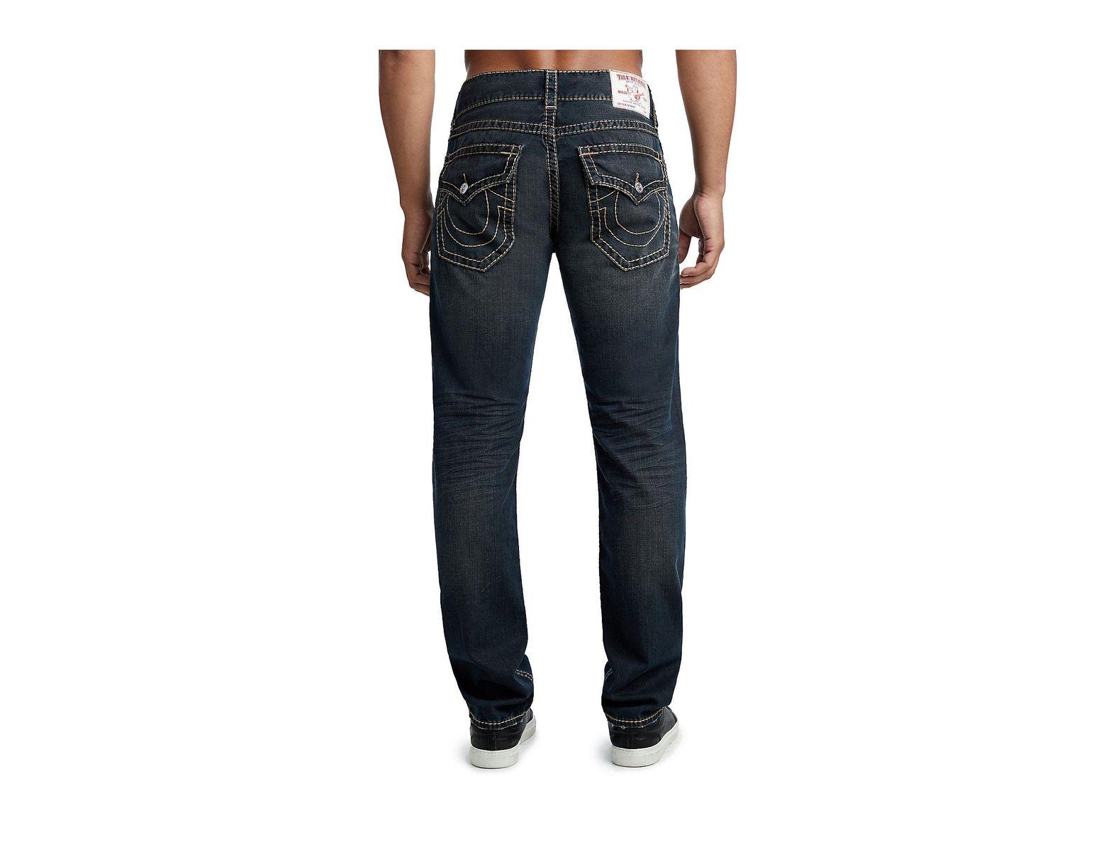 1011bd6d7 True Religion Big T Skinny Jean W  Flap in Blue for Men - Lyst