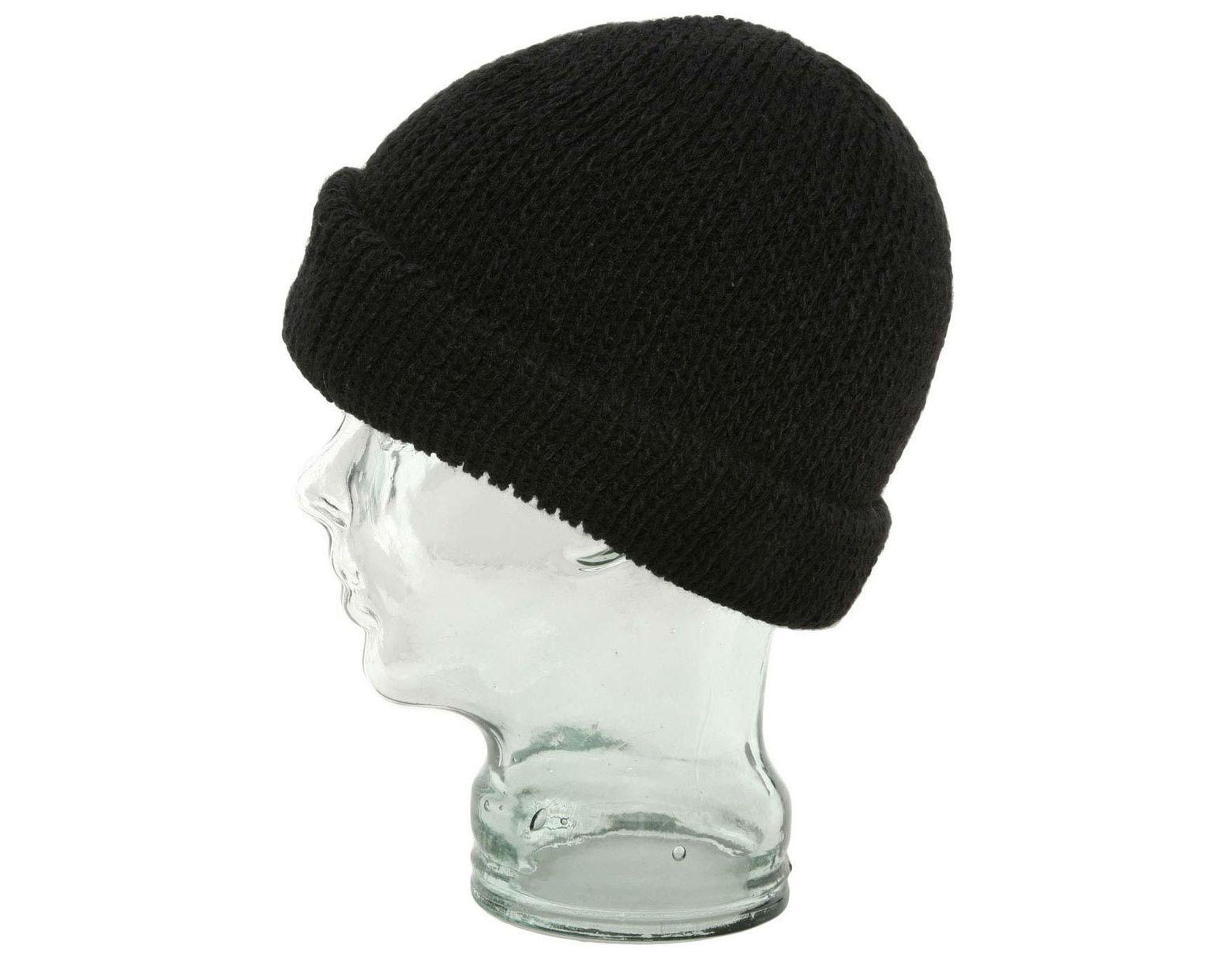 61debf2537c415 Ignite Beanies Apb Dock Worker Roll Cuffed Beanie Hat in Black for Men -  Lyst