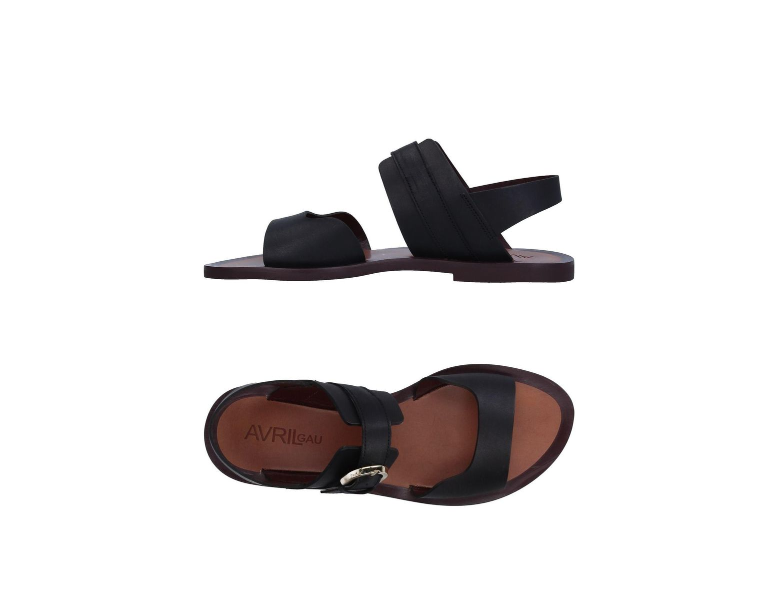 b2467df25ac02 Avril Gau Sandals in Black - Lyst
