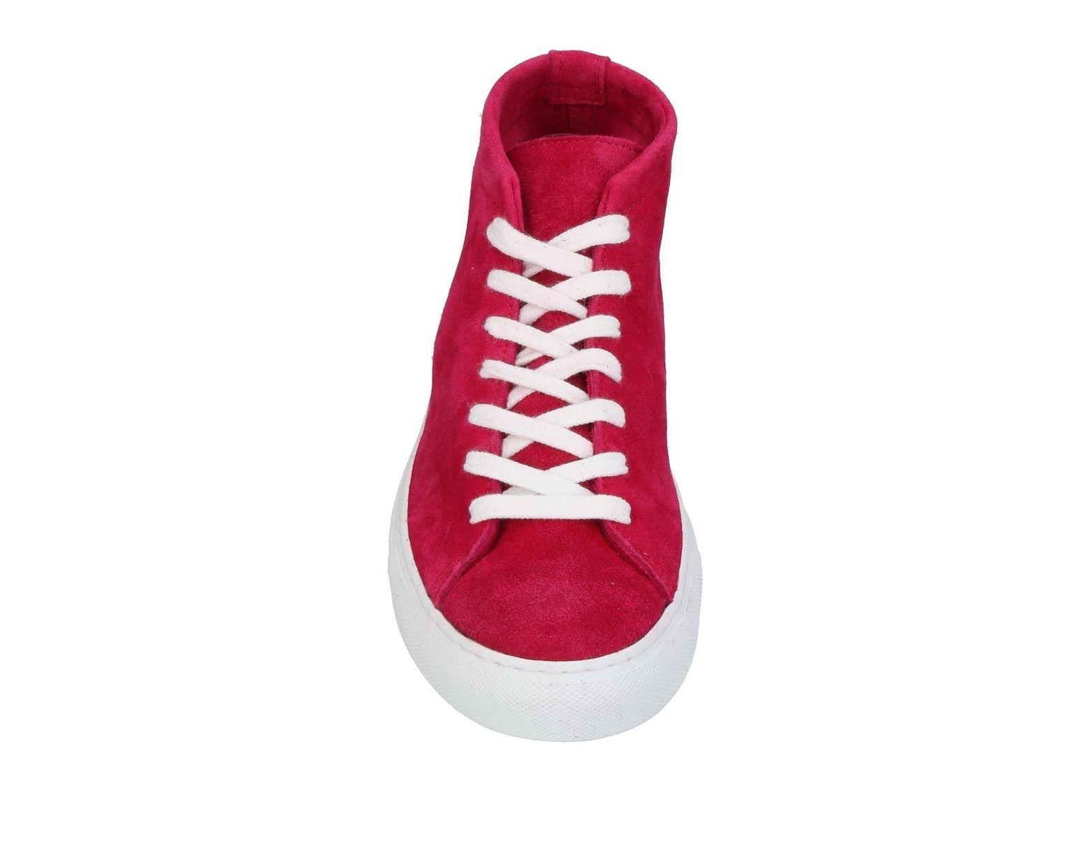 Pour Rouge Coloris Tennis Montantes Homme En Diemme Sneakersamp; Lyst lF1JKc