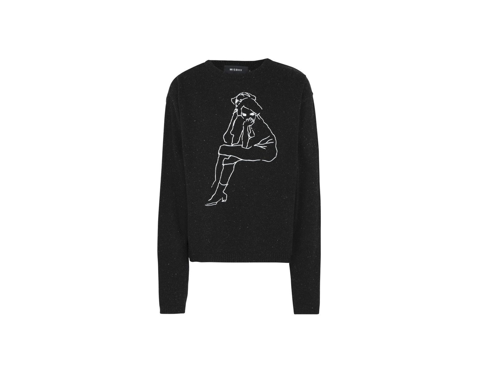 select for latest special discount of shopping MISBHV Jumper in Black for Men - Lyst