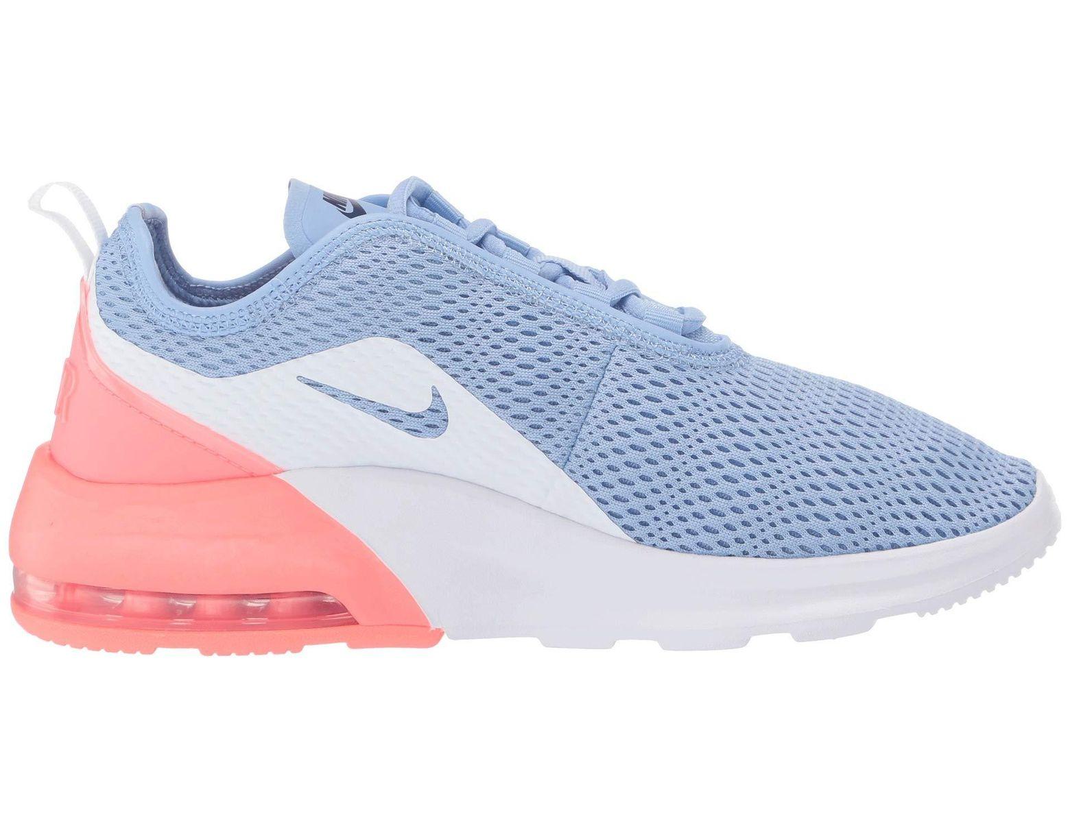 meet 1b322 0638b Nike Air Max Motion 2 (white laser Fuchsia pale Pink) Women s Running Shoes  - Lyst