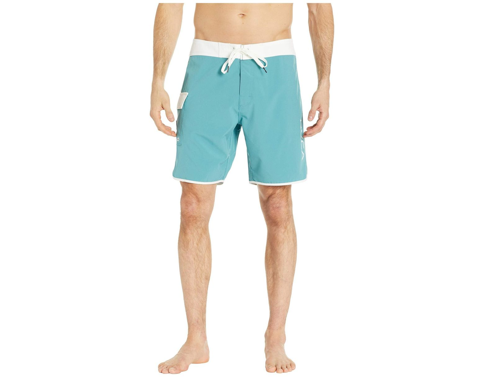 1c7ccdf021 RVCA Eastern Trunk 18 in Blue for Men - Lyst