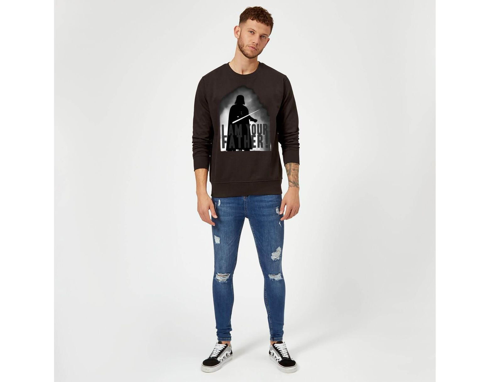 825a8dfd Star Wars Darth Vader I Am Your Father Silhouette Sweatshirt in Black for  Men - Lyst