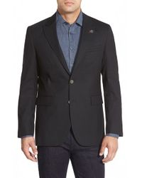 Robert Graham - Black 'linwood' Woven Blazer for Men - Lyst