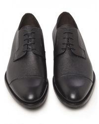 Jules B - Black Lace Up Derby Shoes for Men - Lyst