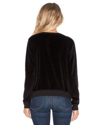 Sundry | Black Double Zip Sweatshirt | Lyst