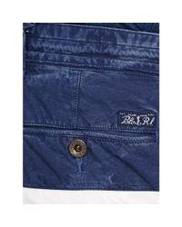 Polo Ralph Lauren - White Color-blocked Cargo Short for Men - Lyst