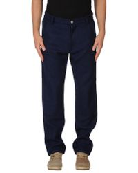 OAMC - Blue Casual Trouser for Men - Lyst