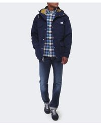 Penfield | Blue Kasson Hooded Mountain Parka for Men | Lyst