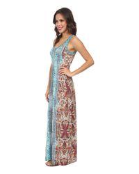 Karen Kane - Multicolor Baja Maxi Dress - Lyst