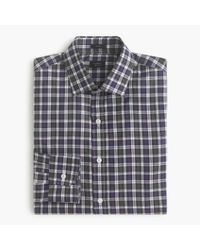J.Crew | Gray Crosby Shirt In Borland Tartan for Men | Lyst
