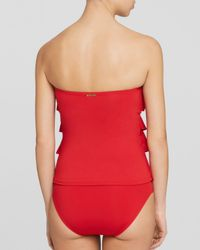 MICHAEL Michael Kors - Red Classic Tankini Bottom - Lyst