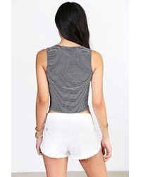 Truly Madly Deeply - Blue Everday Cropped Tank Top - Lyst