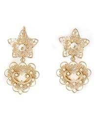 Étoile Isabel Marant | Metallic 'San Pedro' Drop Earrings | Lyst
