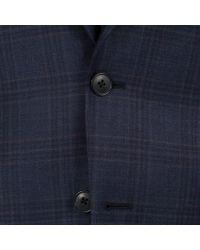 Paul Smith - Blue Men's Navy Check 'mayfair' Suit for Men - Lyst