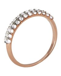 Katie Rowland - Metallic Women'S Zelle Enrapture 18 Carat Half Eternity Ring - Lyst