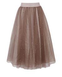 Coast - Pink Selbessa Tulle Skirt - Lyst