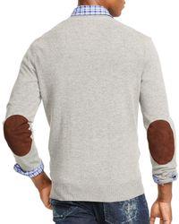 Ralph Lauren - Gray Polo Merino V-neck Cardigan for Men - Lyst