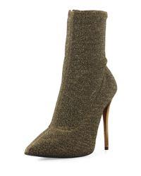 Giuseppe Zanotti - Green Glitter Detail Boots - Lyst