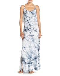 Hard Tail | Blue Graphic Maxi Dress | Lyst