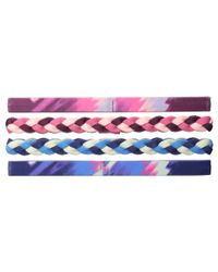 Under Armour - Multicolor Ua Graphic Elastic Headband 4-pack (youth) - Lyst