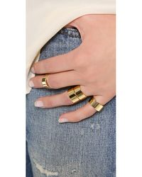 Gorjana | Metallic Camila Ring Set - High Shine Gold | Lyst