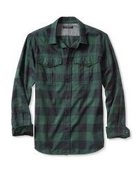 Banana Republic | Green Slim-fit Buffalo Check Flannel Shirt for Men | Lyst