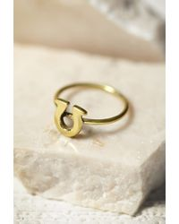 Forever 21 | Metallic Sunahara Horseshoe Lucky Charm Ring | Lyst