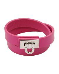 Ferragamo | Pink Bracelet | Lyst