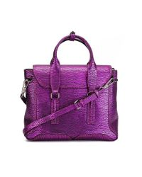 3.1 Phillip Lim - Purple Medium 'pashli' Satchel - Lyst