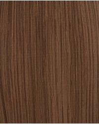 Zara | Brown Straight Pleated Skirt | Lyst