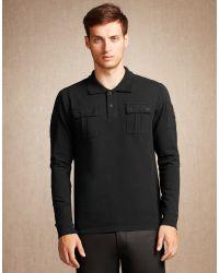 Belstaff - Black Broxburn T-shirt for Men - Lyst