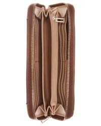 Guess | Brown Huntley Large Zip Around Wallet | Lyst