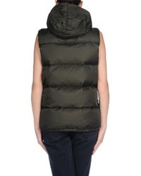 Closed - Green Down Jacket - Lyst