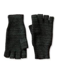 Banana Republic | Black Extra-fine Merino Wool Fingerless Glove for Men | Lyst