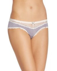 Honeydew Intimates | Gray 'carli' Hipster Briefs | Lyst