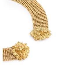 Ela Stone - Metallic Lionnie Chain Mesh Collar Necklace - Lyst