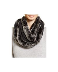 Magaschoni | Gray Fur Infinity Scarf | Lyst