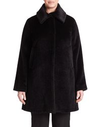 Jane Post - Black Jane Coat - Lyst