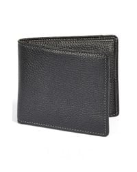 Boconi | Black 'tyler' Rfid Protected Wallet for Men | Lyst