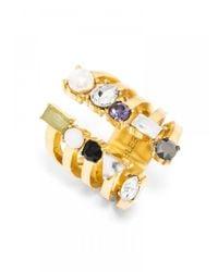 BaubleBar - Multicolor Vault Ring - Lyst
